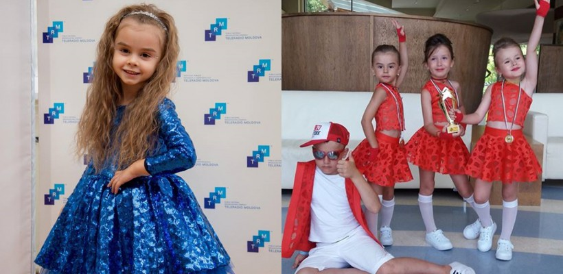 Kamelia, fiica lui Anatol Melnic, spre noi culmi ale succesului! A fost premiată la un concurs internațional