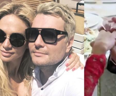 Nikolay Baskov și-a cerut în căsătorie noua iubită. Cine e logodnica interpretului (VIDEO)