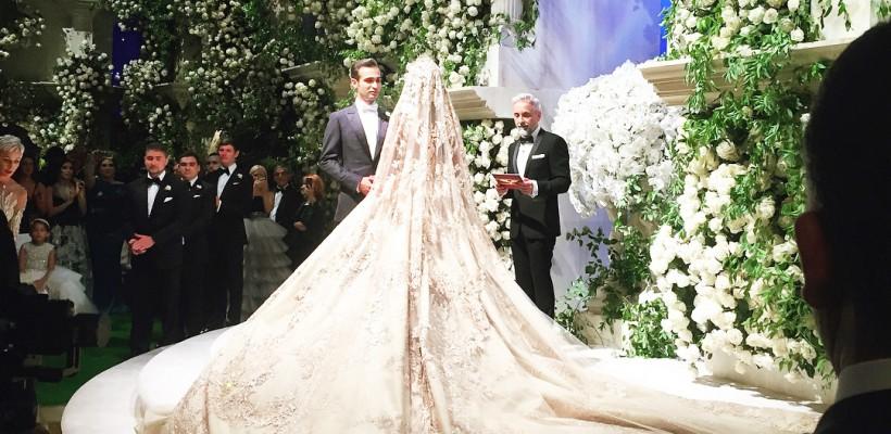 Prezentatoare – Ksenya Sobchak! Nunta pompoasă a unor copii de oligarhi din Rusia face vâlvă pe rețelele sociale
