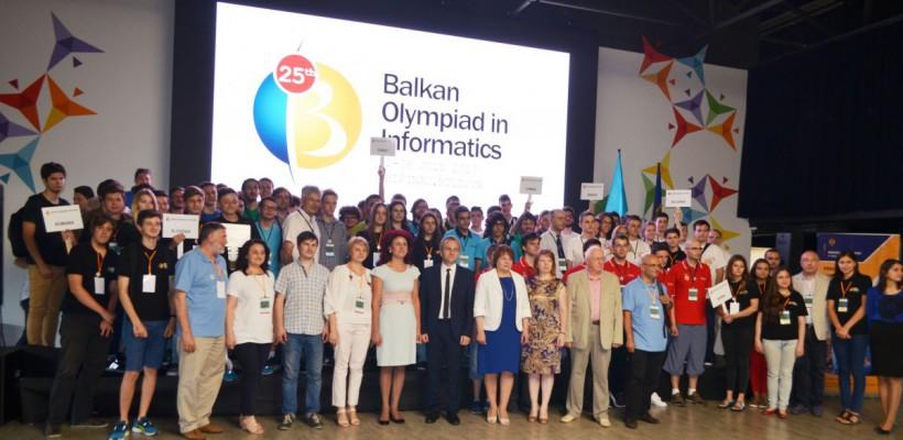 50 de elevi din 12 țări luptă pentru locul I la Olimpiada Balcanică la Informatică, organizată la Chișinău
