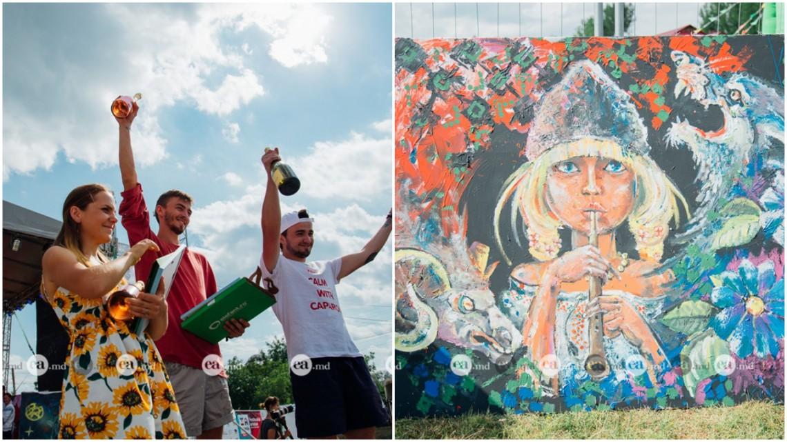 """Cel mai talentat artist la festivalul IA MANIA a fost Petru Glavan. Ciobănița lui i-a adus locul întâi în concursul """"Cai verzi pe pereți"""""""