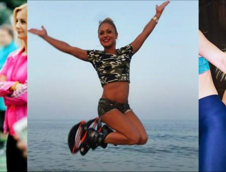 """Lucia Nicora: femeia care a schimbat pantofii cu toc pe ghetele Kangoo Jumps: """"Sunt îndrăgostită de acest sport"""""""