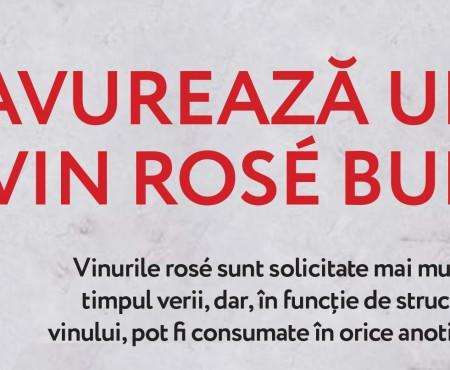 INFOGRAFIC. În această vară savurează vinurile rose produse în Moldova