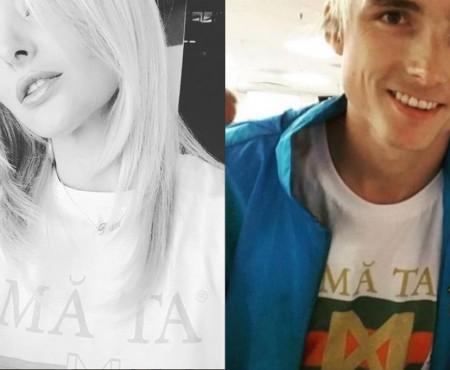 Tricourile ce poartă semnătura Deliei prind tot mai multă popularitate! Și vloggerul Ilie Bivol le poartă