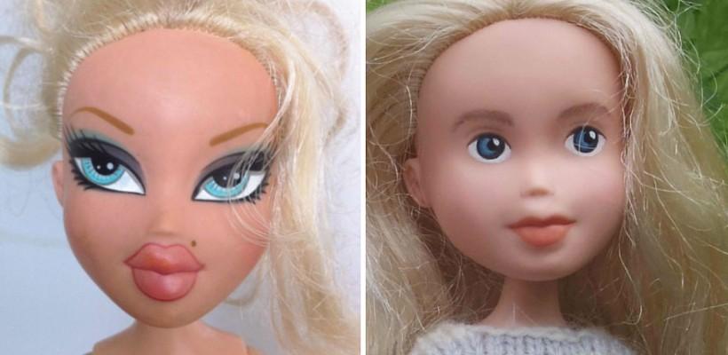 O mămică din Australia transformă popularele păpuși Bratz în unele care seamănă cu fetițe adevărate