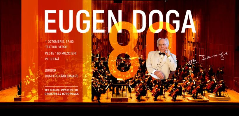 """Teatrul Verde va găzdui concertul aniversar """"Eugen Doga – 80"""""""