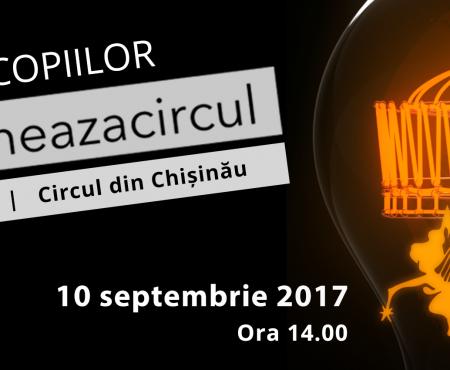 Proiectul social #LumineazăCircul continuă! Urmează un spectacol prezentat de copii pe Arena Mare a Circului
