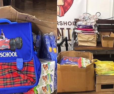 26 de copii nevoiași vor merge la școală cu rucsacuri nou-nouțe, cumpărate din banii adunați de o frizerie din Chișinău