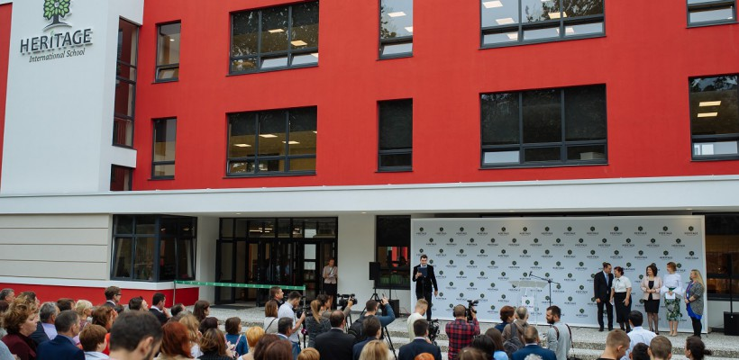 """GALERIE FOTO. Școala Internațională """"Heritage"""" și-a deschis ușile: """"Vom crește elevi ai secolului XXI"""""""