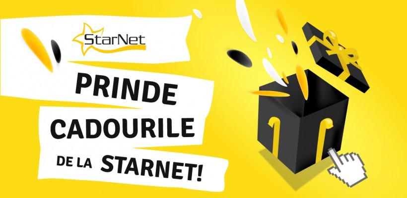 Intră în joc, prinde cadourile de la StarNet!