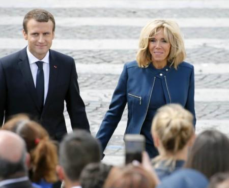"""Prima Doamnă a Franței despre soțul ei mai tânăr: """"Luăm micul dejun, eu cu ridurile mele, el cu o față proaspătă"""""""