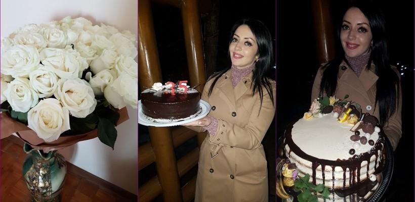 La 35 de ani, cu două torturi! Ce dorință și-a pus Mariana Șura când a suflat în lumânări?