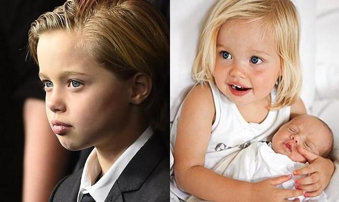 """S-a născut fetiță, iar acum e """"băiețel""""! Vezi cum arată Shiloh Jolie-Pitt la 11 ani"""