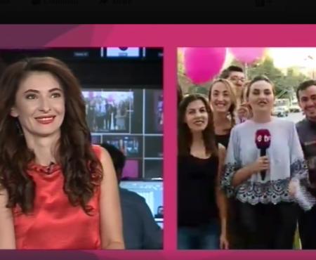 Angela Gonța, felicitată cu ocazia zilei de naștere, în emisie directă