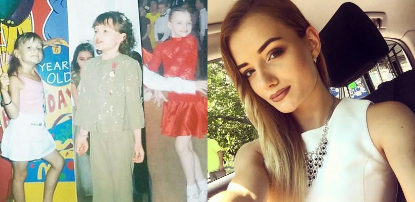 """Dansatoarea Carolina Țăruș împlinește 19 ani. Cum arăta în copilărie talentata """"leoaică"""" (FOTO)"""