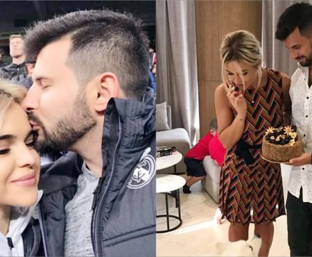"""Daniela Burlac și-a felicitat iubitul cu o declarație înduioșătoare: """"E bărbatul din vise"""""""
