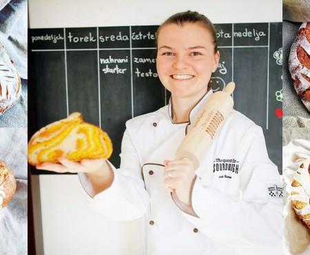 O femeie din Slovenia transformă fața pâinii în operă de artă (FOTO)