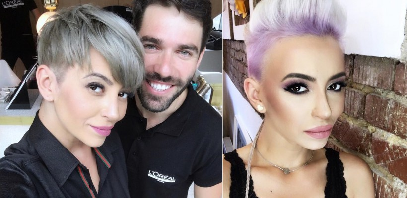 Stilistul a făcut nebunie în părul ei! Giulia afișează un hairstyle nemaiîncercat până acum (FOTO)