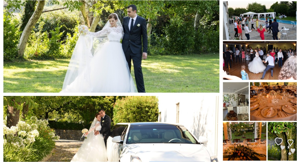 Și-au adunat rudele din toată Europa la o nuntă cu tradiții și dansuri moldovenești… în Portugalia (Foto)