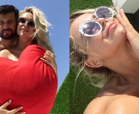 Daniela Burlac și iubitul ei savurează vacanța în Turcia. S-au oprit la un hotel doar pentru cupluri