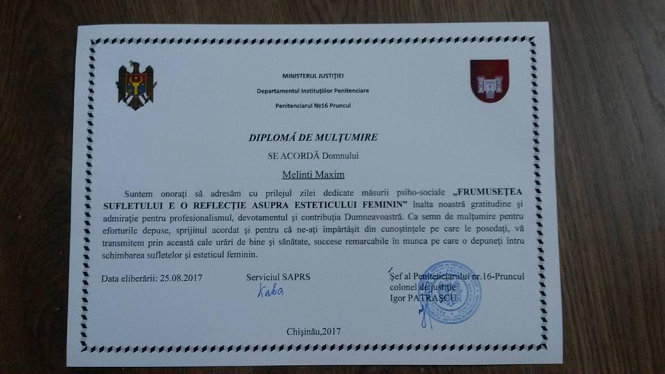 diploma melinti