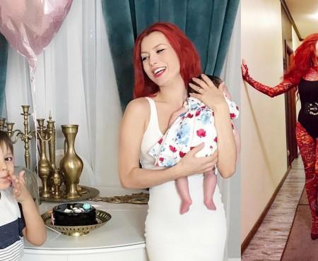 Elena Gheorghe, revenită la concerte în doar o lună după ce a născut. Arată incredibil