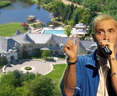 Vila de lux a lui Eminem, de vânzare. Are șase dormitoare și nouă băi (Foto)