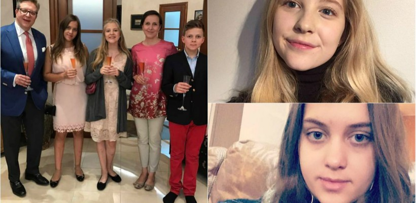 Fiicele diplomatului Pirkka Tapiola au împlinit câte 15 ani. Cât de bine arată adolescentele (FOTO)