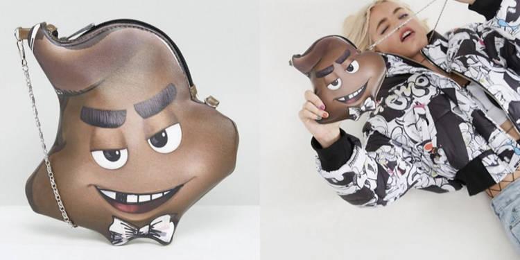 Fashion sau scârbos? Un celebru magazin online vinde genți în formă de rahat cu ochi (Foto)