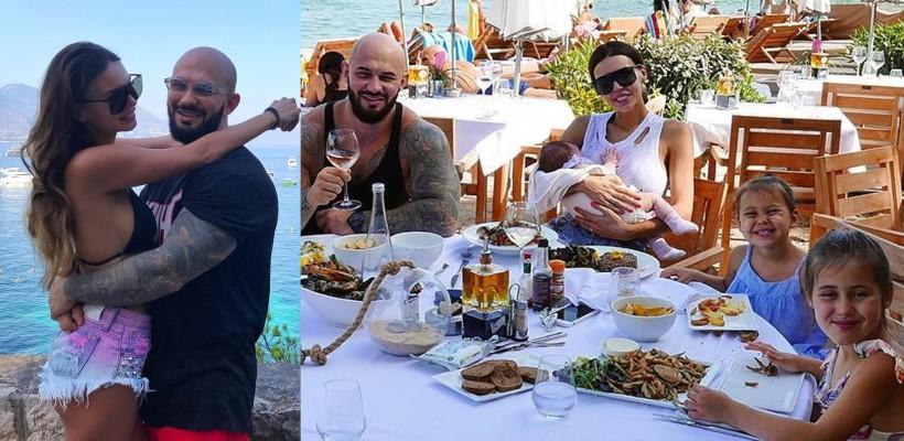 În vacanță cu toți 3 copii! Geegun și Oksana Samoylova se bucură de o escapadă pe Riviera Franceză