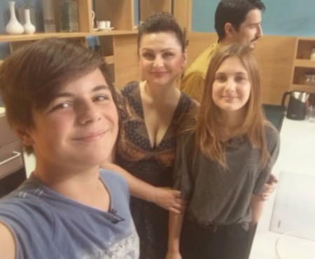 """Geta Burlacu despre copii: """"E foarte greu să găsești acel mijloc de aur dintre a fi părintele și prietenul copilului tău"""""""