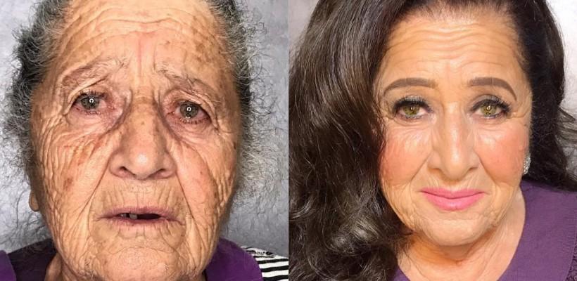 Celebra Goar Avetisyan și-a machiat bunica! Transformarea e uluitoare (VIDEO)
