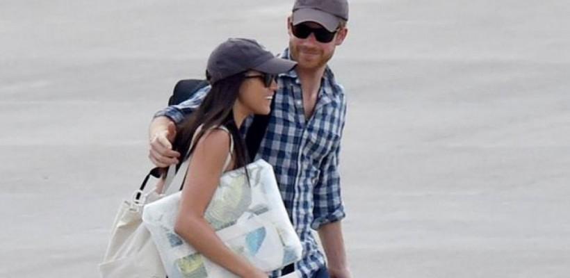Prințul Harry, în prima vacanță alături de iubita sa, Meghan Markle (Foto)