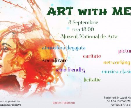 ART with ME – combinația perfectă între artă, muzică și caritate