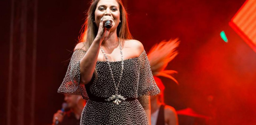 Jasmin a cântat în română pe scena de la Orhei, de Ziua Independenței. A fost însoțită de dansatori (Video)