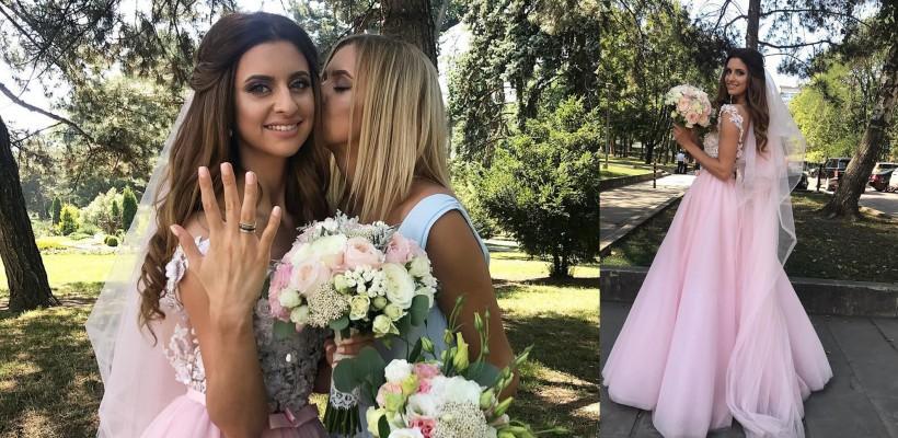 Margarita Dodon – o mireasă în rochie roz. Tânăra a dezvăluit identitatea viitorului soț (FOTO)