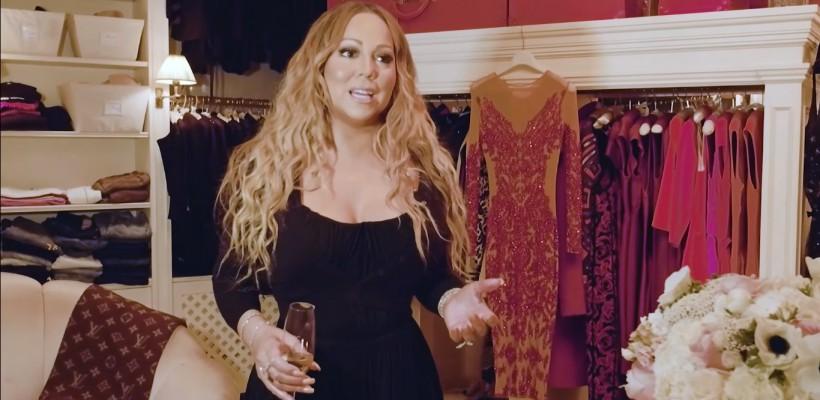 O odaie separată pentru lenjeria intimă! Mariah Carey și-a arătat imensa garderobă (VIDEO)