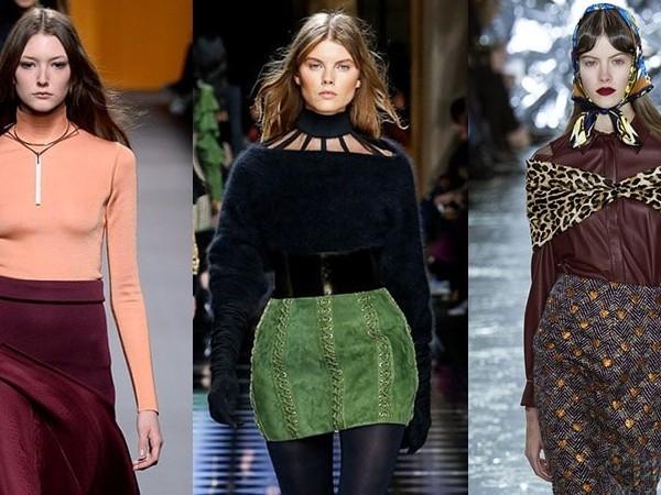 Revin catrințele! Câteva modele de fuste la modă pentru toamna 2017 (Foto)