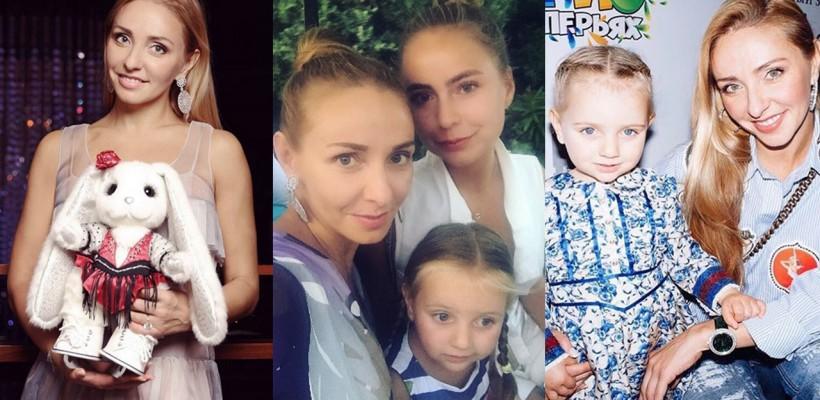 """""""Chiar dacă sunt fetele tatei, oricum ale mamei rămân!"""" Cât de mari s-au făcut fiicile Tatianei Navka (Foto)"""