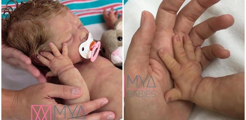 Femeile care nu pot avea copii plătesc sute de lire sterline pentru păpușile care imită nou-născuții