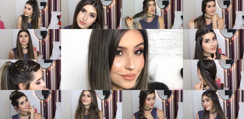 O beauty bloggeriță din Portugalia a încercat câte un hairstyle pentru fiecare semn zodiacal (VIDEO)
