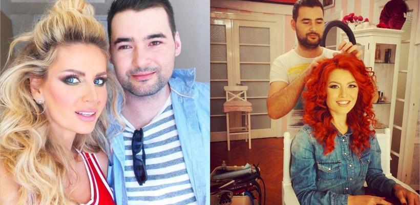 Își face treaba de minune! Cine e hairstylistul preferat al vedetelor din România