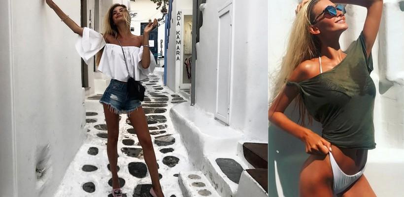 Miss Rusia 2017 pozează ispititor din vacanță. Și-a achitat sejurul cu banii câștigați în concurs
