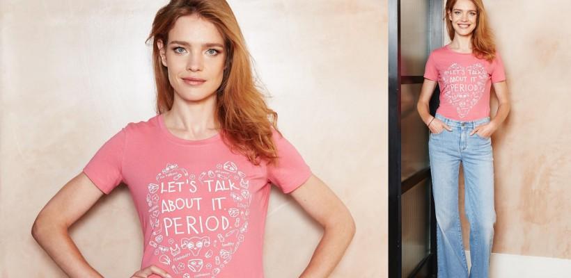 """Natalia Vodianova abordează public subiectul menstruației: """"Să nu ne mai ascundem sau să tăcem!"""""""