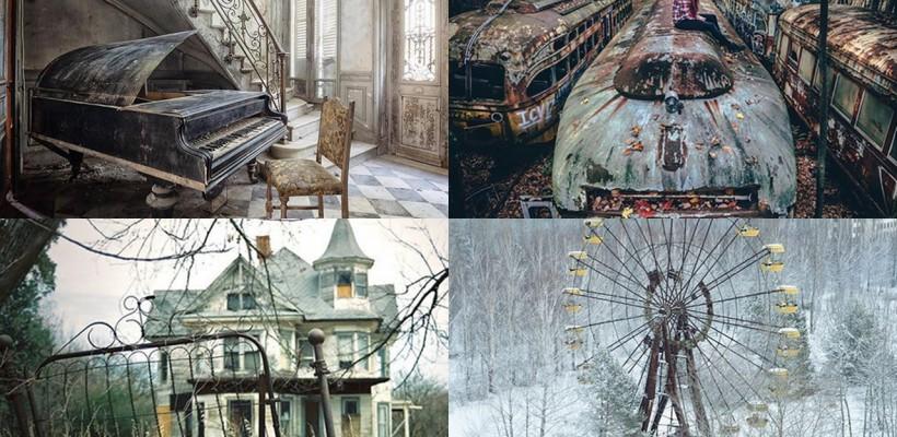 Rupte din poveste! Cum arată cele mai frumoase locuri abandonate din lume (FOTO)