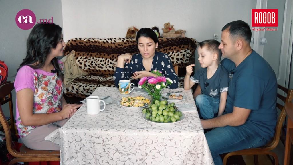 dejun in familia Zambarele Victoria Rosca