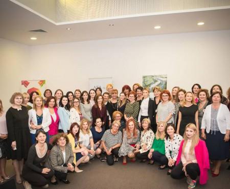 Femeile de afaceri de pe ambele maluri ale Prutului și-au dat întâlnire la un business breakfast! Ce subiecte au pus în discuție (Foto)