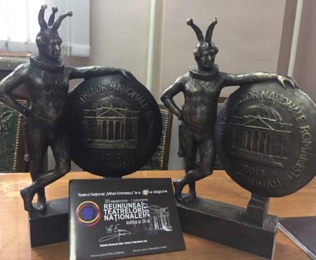 Bronz pentru teatrele naționale din România și Republica Moldova!