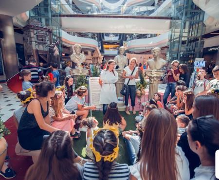 "50 de elevi din Tiraspol au vizitat expoziția interactivă ""Roma Antică"" de la Shopping MallDova (FOTO)"