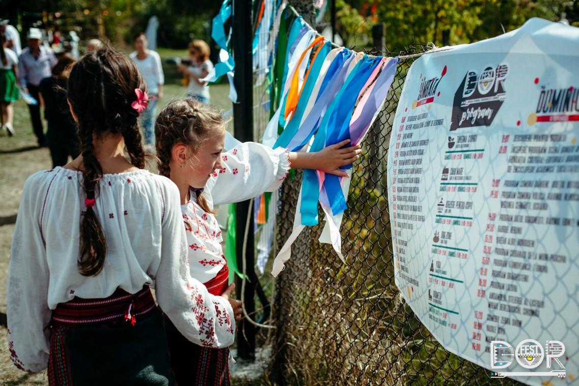 Nordul s-a sărbătorit 2 zile cu muzică, oameni cu spirit liber și tradiții. DORfest a scris o nouă filă din istoria satului Gordinești (Foto)